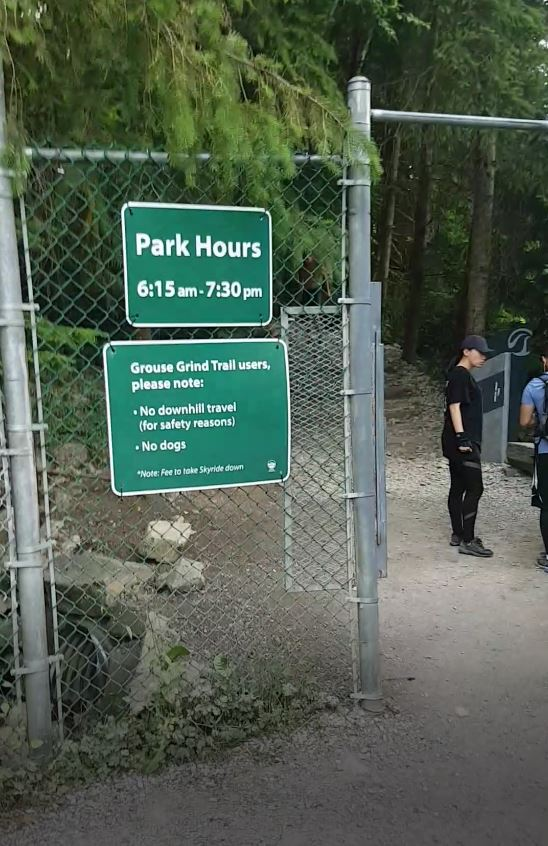 Grouse Grind Gate